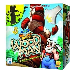 这是一个训练力量控制的游戏,当玩家丢下骰子后,他必须砍下指定高度