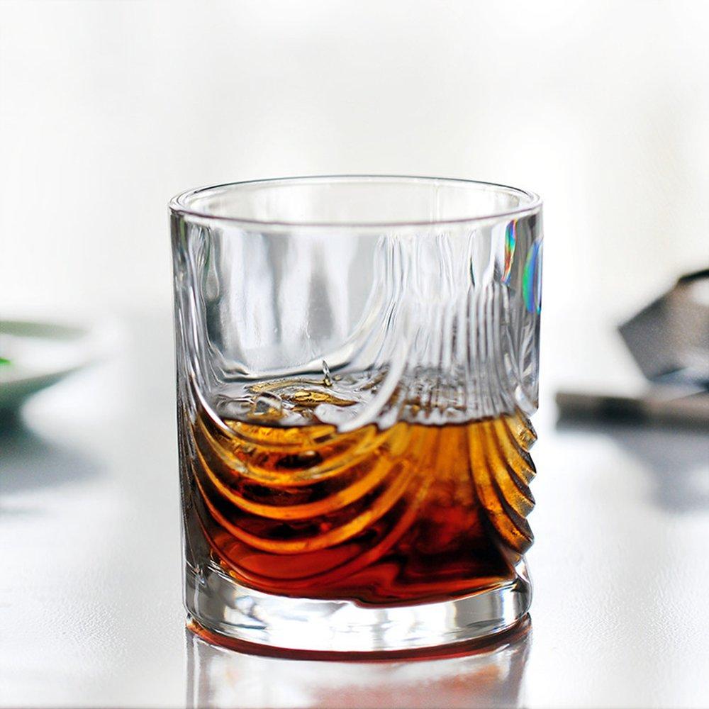 陶瓷故事 啤酒红酒果汁杯 时尚创意透明玻璃杯 623-1
