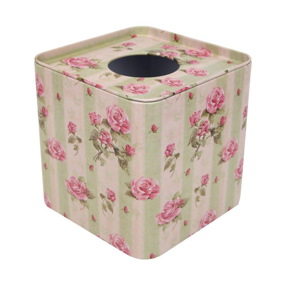 氧气花园 正方形马口铁纸巾盒