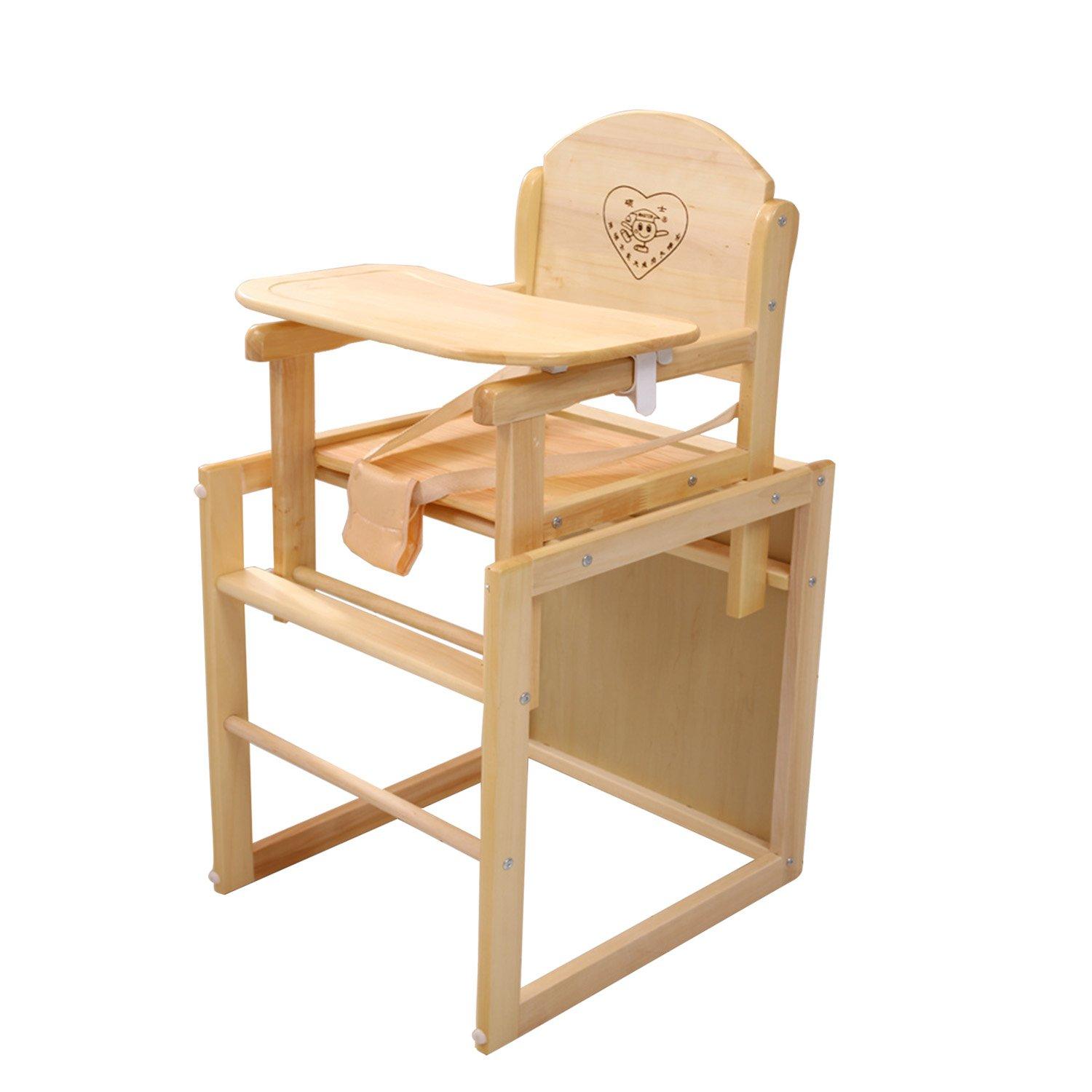 saoors 小硕士实木清漆系列组合式儿童餐椅dz-325-3图片