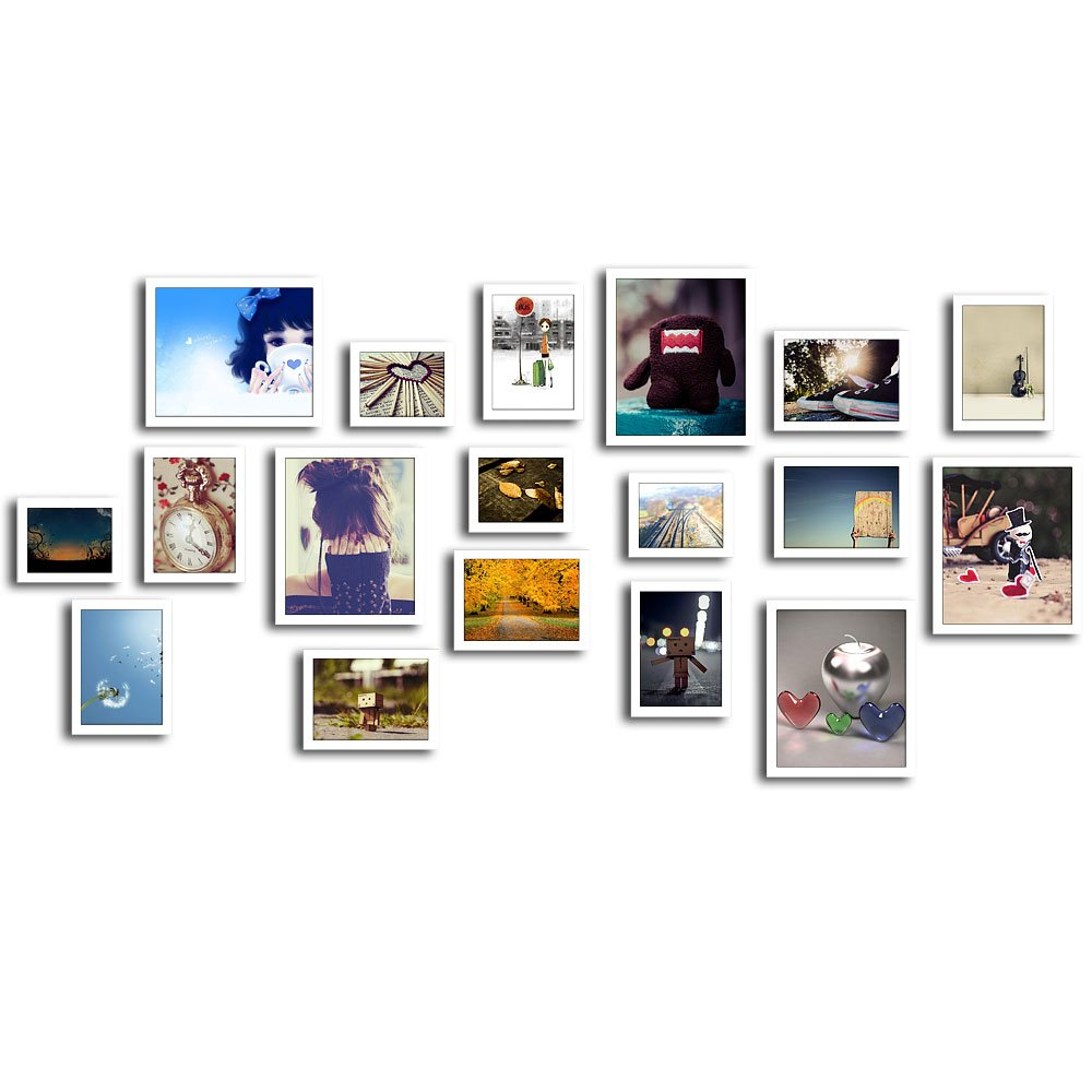 润格 精美照片墙 现代创意组合 相框墙组合 婚纱照照片墙 大型相片墙