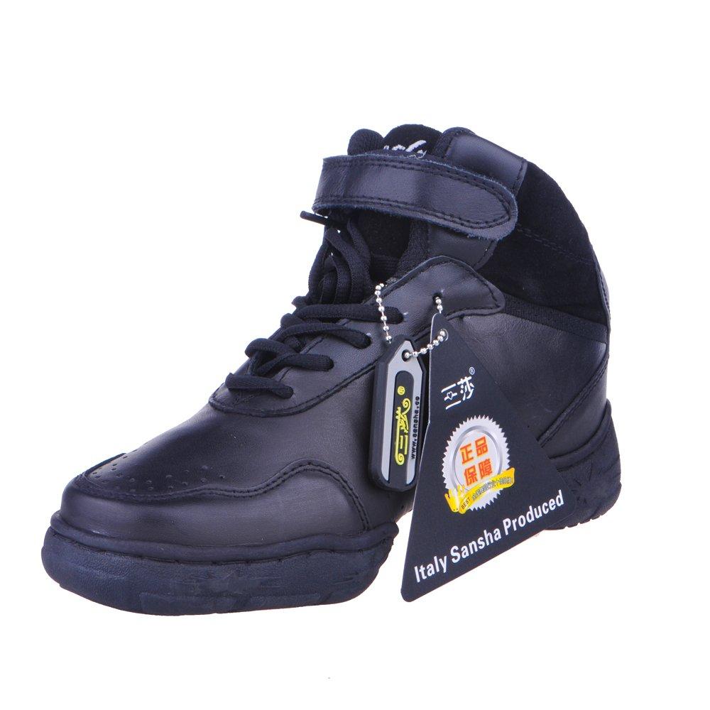三莎舞蹈鞋包邮 真皮现代舞鞋爵士舞鞋 正品广场舞鞋跳舞鞋 (牛皮, 38