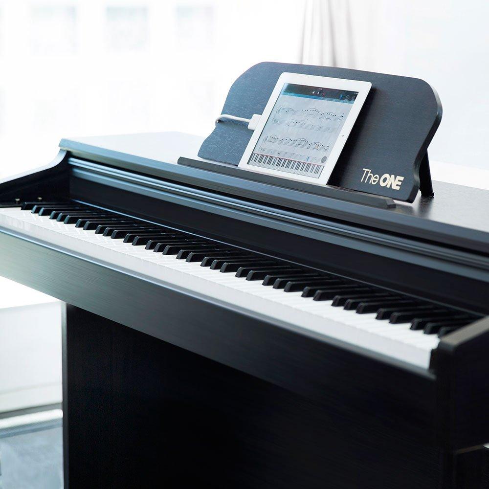 the one智能钢琴乐器 电钢琴88键重锤 数码钢琴 电子琴 电子钢琴 黑色