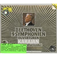 进口CD:贝多芬:9首交响曲