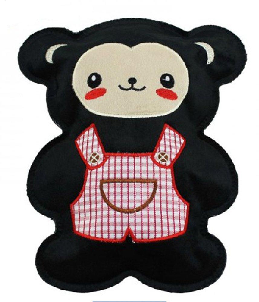 春笑 国标- 独立大卡通电热水袋(黑熊)dl03 冬天保暖必备用品