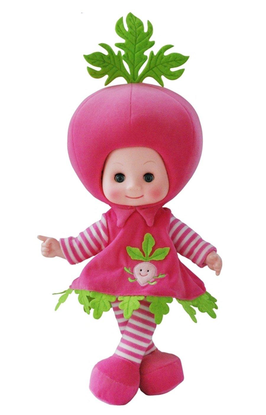adingb爱丁堡 水果娃娃 可爱毛绒娃娃 会说话娃娃 (胡