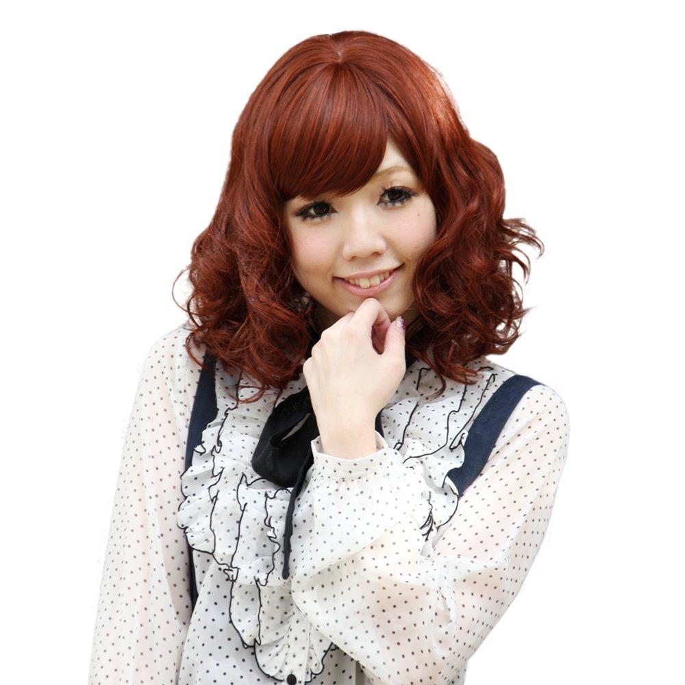 wigs2you全假发 耐热 中长发卷发新款 蓬松 时尚 梨花头 甜美可爱 w