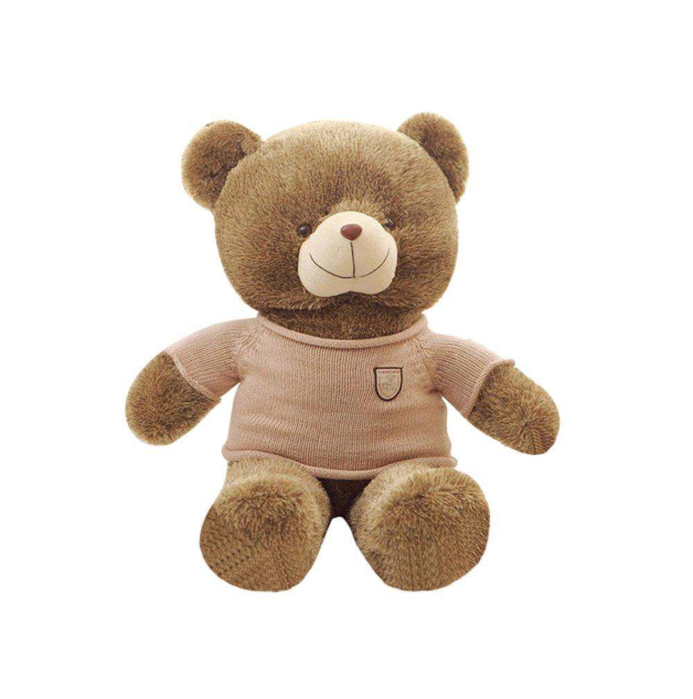 qumeng 趣萌 卡通动物毛绒玩具 泰迪熊公仔 毛衣刺猬熊大号布娃娃生日