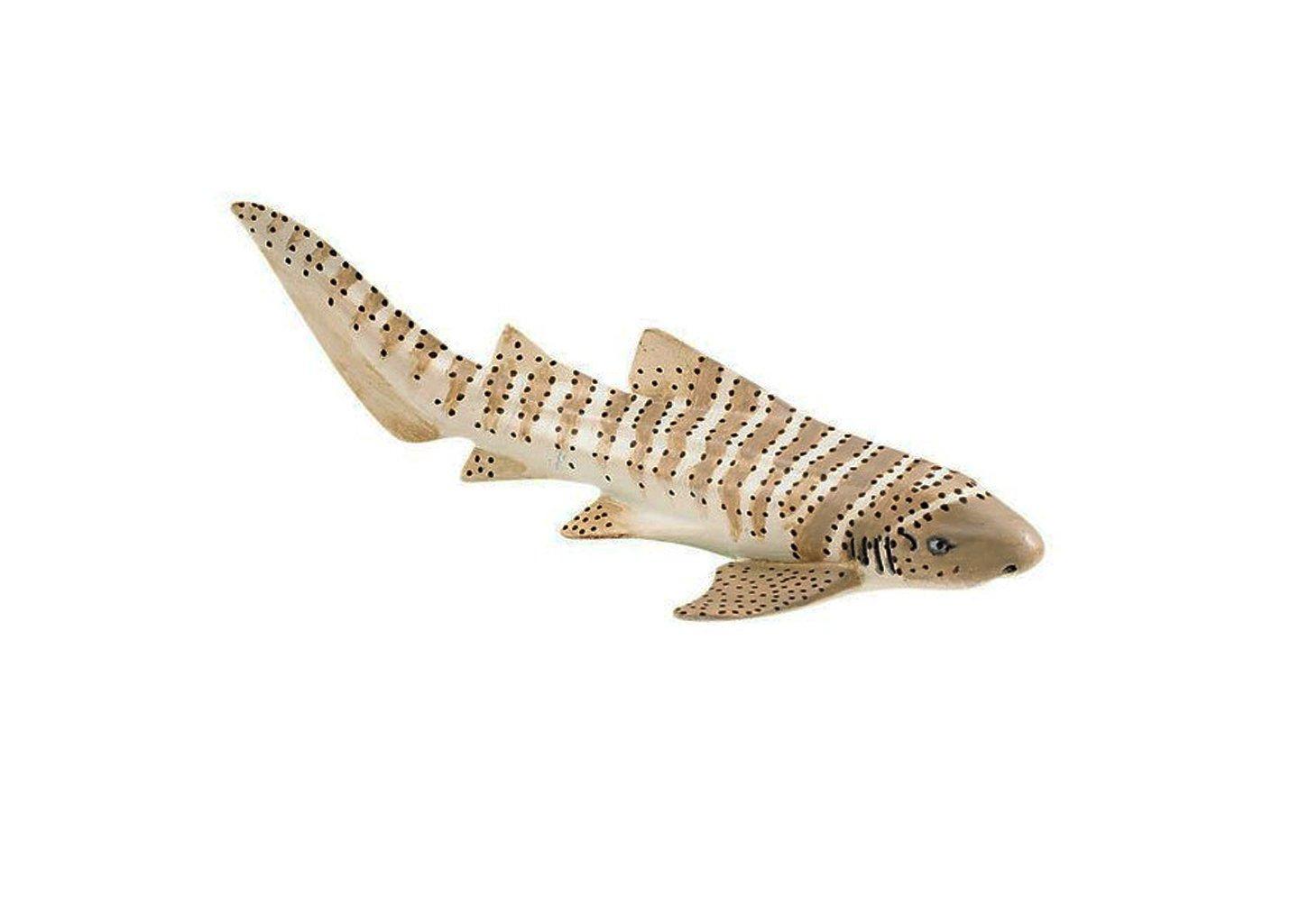动物模型 斑马鲨 海洋生物模型玩具