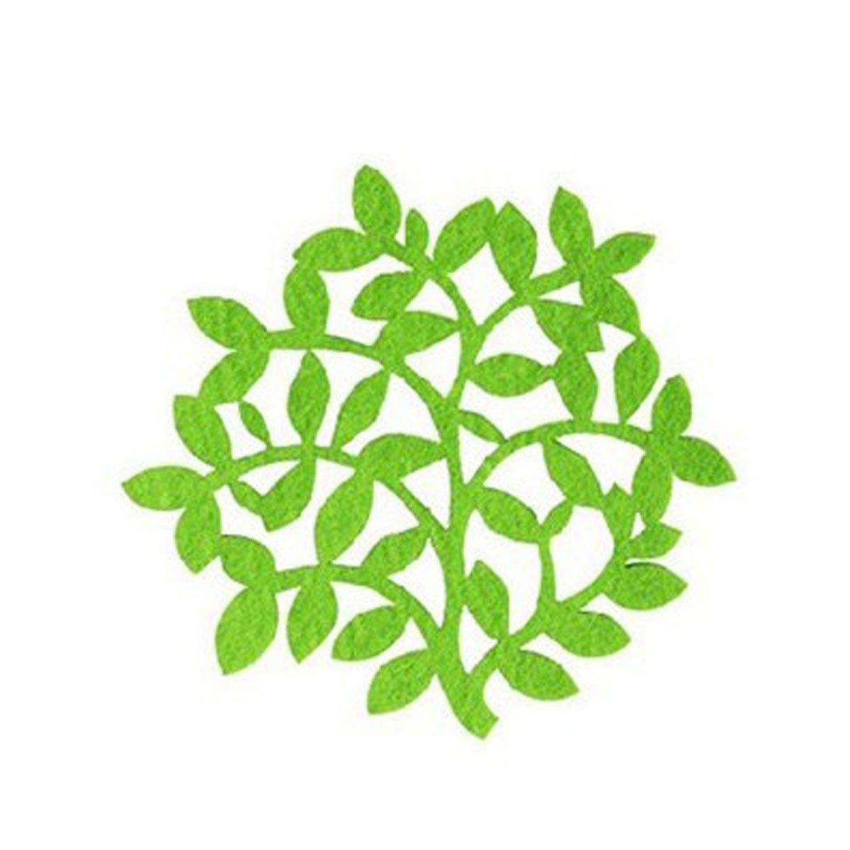 树叶造型矢量图
