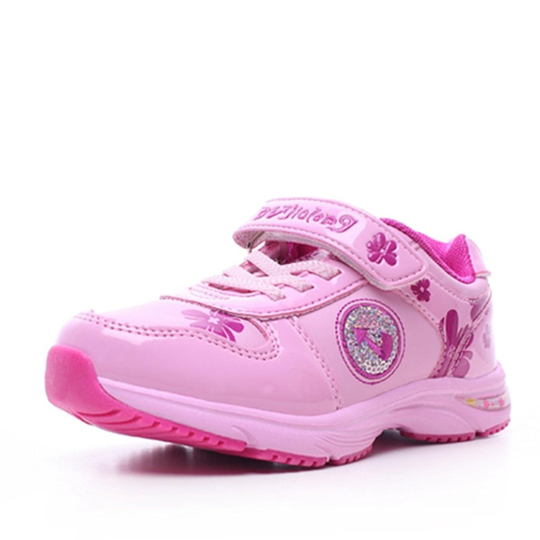 独家龙 闪灯童鞋 儿童运动鞋 女童鞋中小童韩版可爱旅游鞋春秋