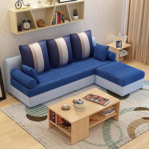 (9色可选)现代时尚沙发 布艺沙发组合简约现代款式新颖 布沙发 客厅图片