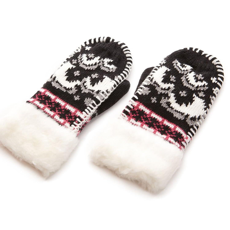 冬季韩版可爱女生长手套女冬女士加厚加绒保暖