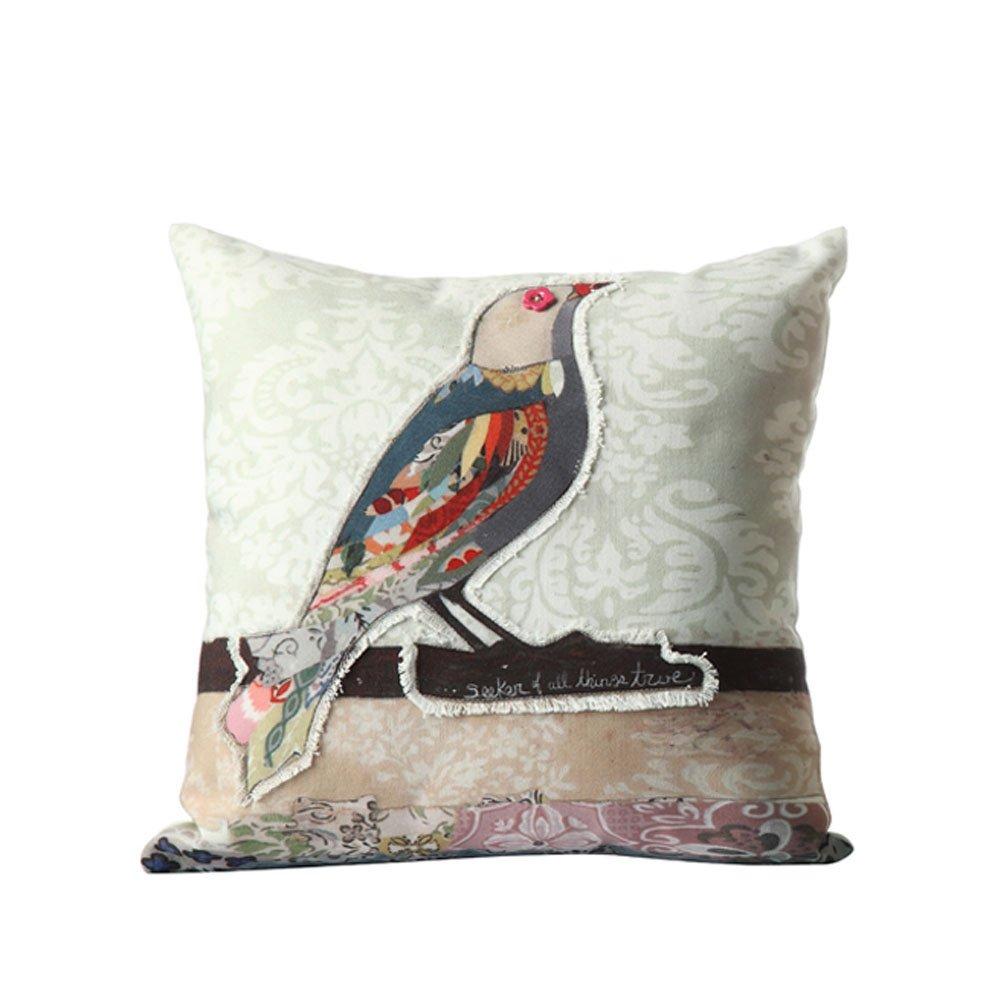 creative home 可立特 美式乡村沙发抱枕 创意沙发抱枕/沙发靠垫 小鸟图片