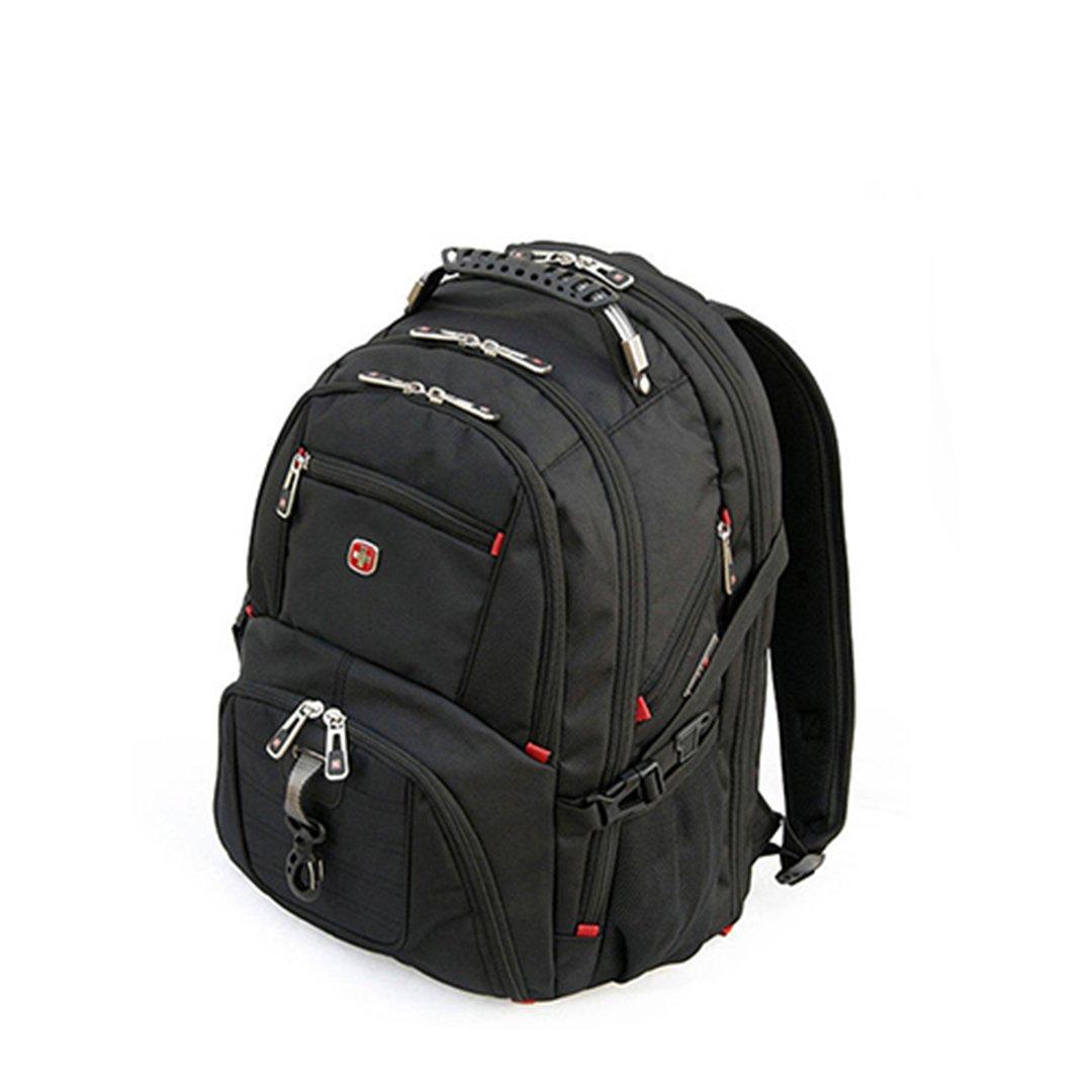 swisswin 瑞士军刀 男士户外 旅行双肩包 电脑包背包