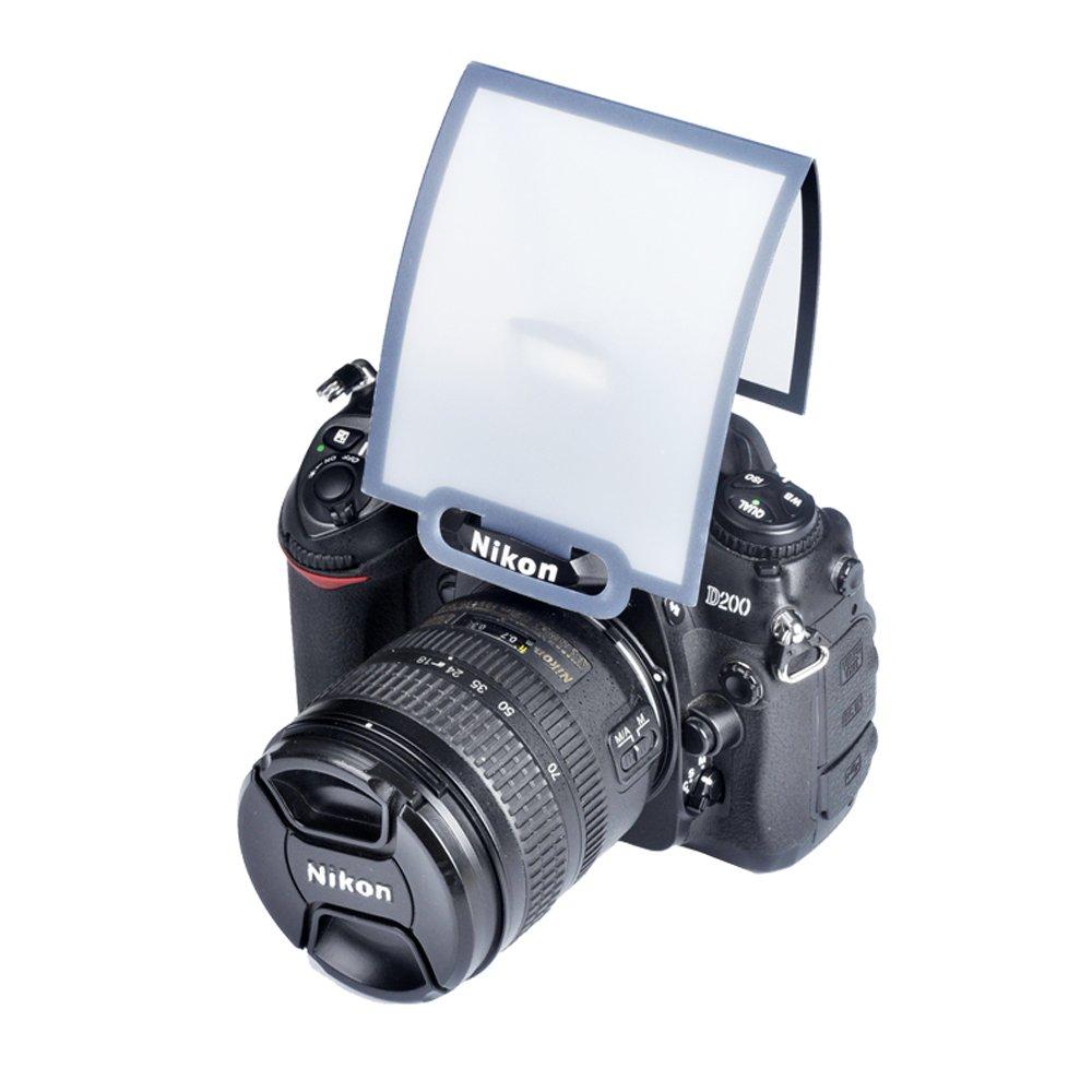 特价 闪光灯 内置闪光灯柔光罩 单反相机 弹跳式闪光灯柔光罩 通用型