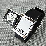 冰容 名侦探柯南滑盖LED手表 柯南16周年纪念手表 第十一名前锋手表-图片