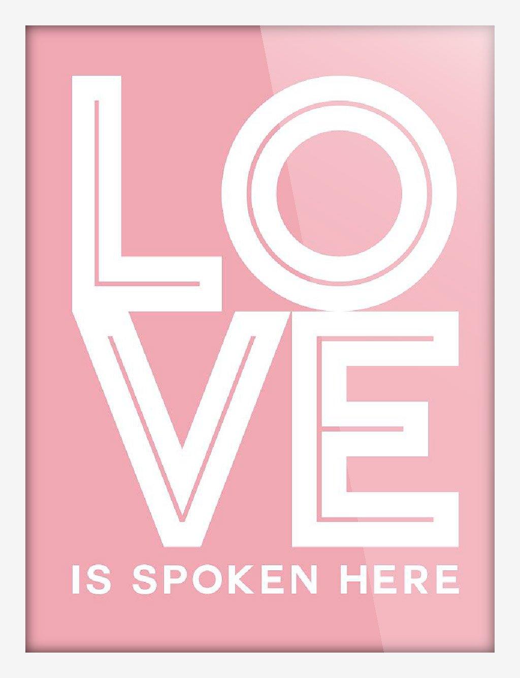 light art 轻艺术 图说语录 爱的密语 北欧简约英文字母图片海报定制图片