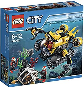 乐高潜水艇玩具