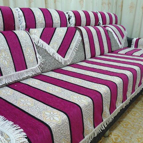 恬田 可定制沙发套子 芭比伦时尚防滑布艺沙发坐垫沙发巾 沙发布 50*