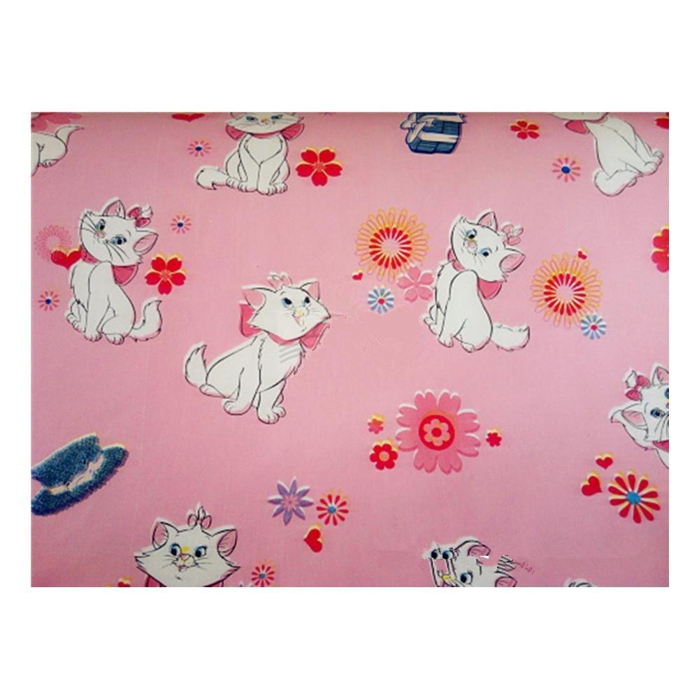 挚鑫pvc自粘壁纸墙纸可爱猫猫花纹45*1000cm