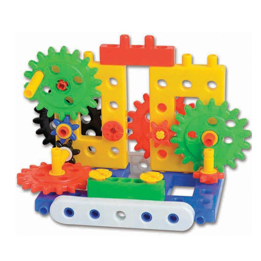 幼教幼儿园益智玩具桌面游戏搭建构积木齿轮图片