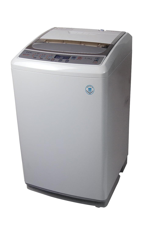 tcl 5.5公斤全自动波轮式洗衣机xqb55-28sz