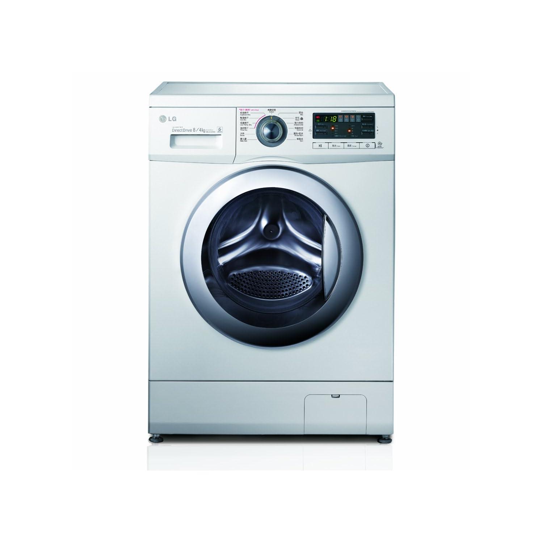 LG WD-A12411D 滚筒洗衣机(8公斤、DD变频电机、烘干)