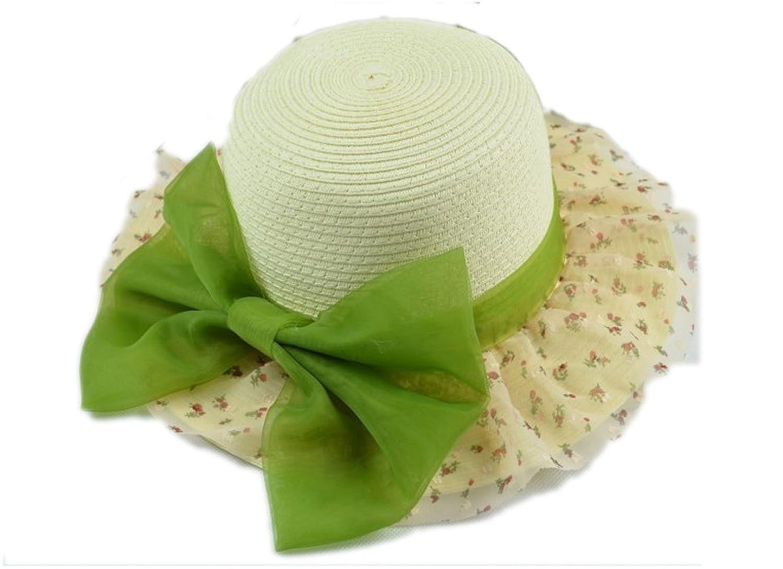 防晒帽子沙滩太阳帽 (绿色)