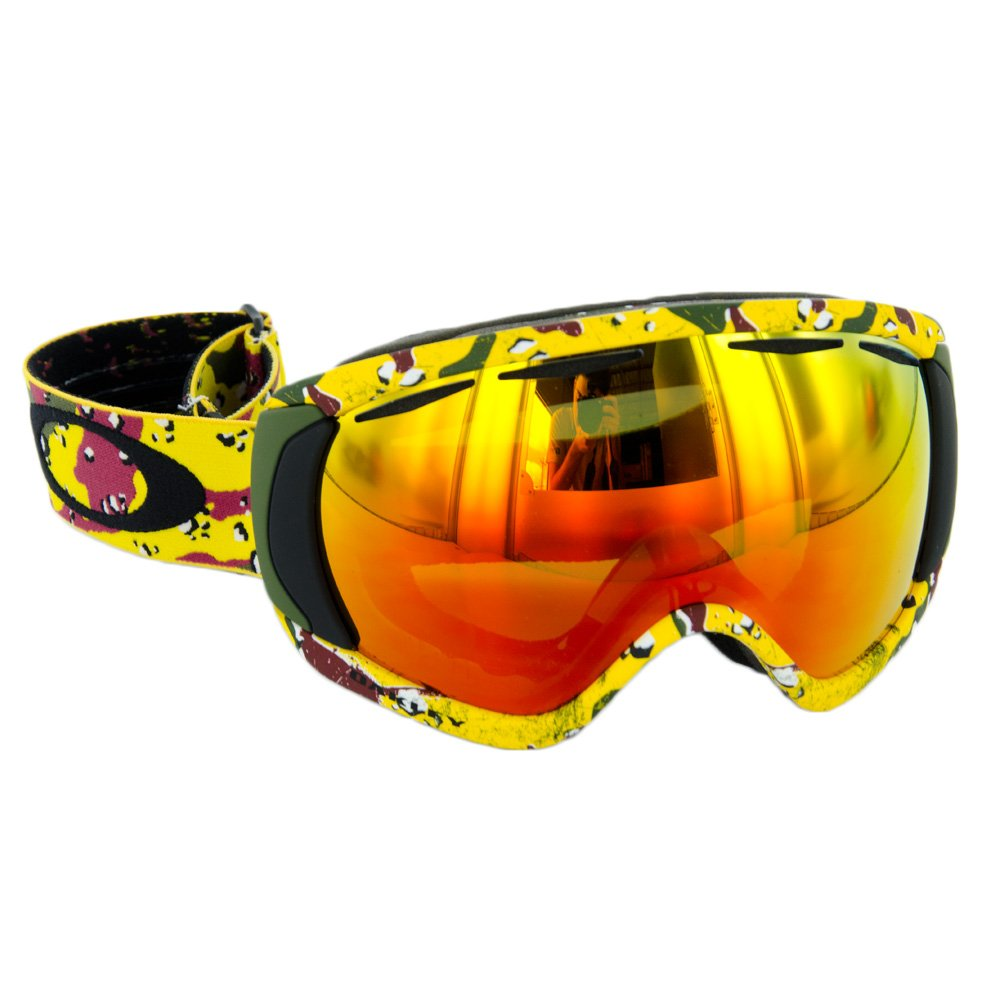 oakley hi yellow goggles  oakley canopy tanner