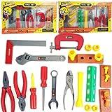 HABIBI 高度仿真工具套装 宝宝益智玩具 工具箱 工具套装 A,B两款随机发-图片