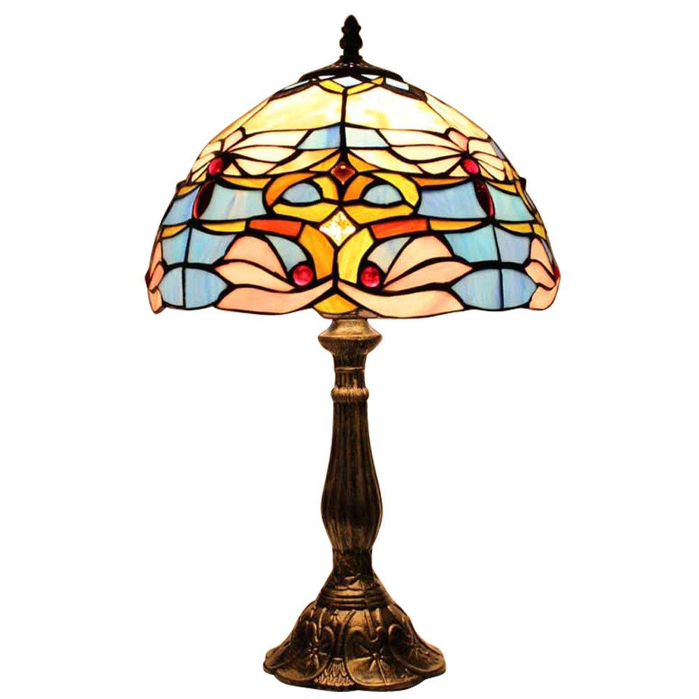 宜轩灯饰30cm台灯卧室床头灯欧式复古婚房特价现代创意装饰台灯可配调