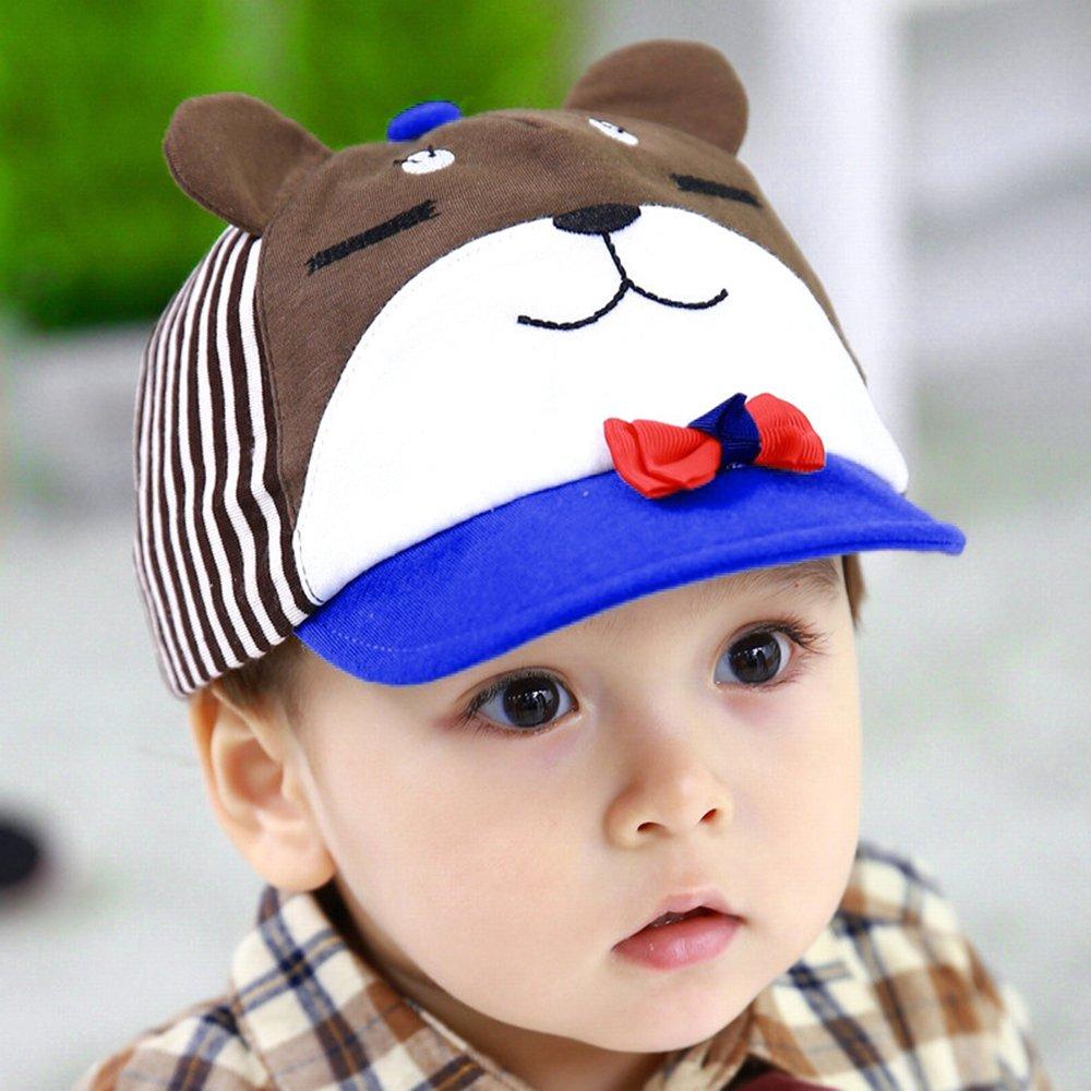 lemonkid 柠檬宝宝 韩国春天 婴儿帽子棒球帽宝宝鸭舌帽 儿童平沿帽