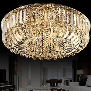 世源 现代led水晶灯欧式客厅灯具