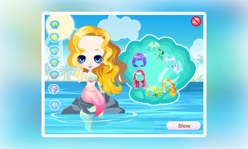 可爱人鱼小公主-亚马逊应用商店-亚马逊中国
