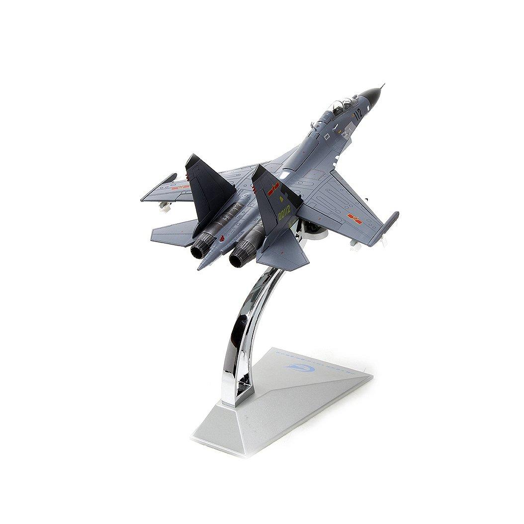 72歼11飞机模型仿真 苏27战斗机模型合金军事限量