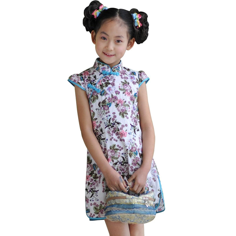 童装女童夏装 女童旗袍