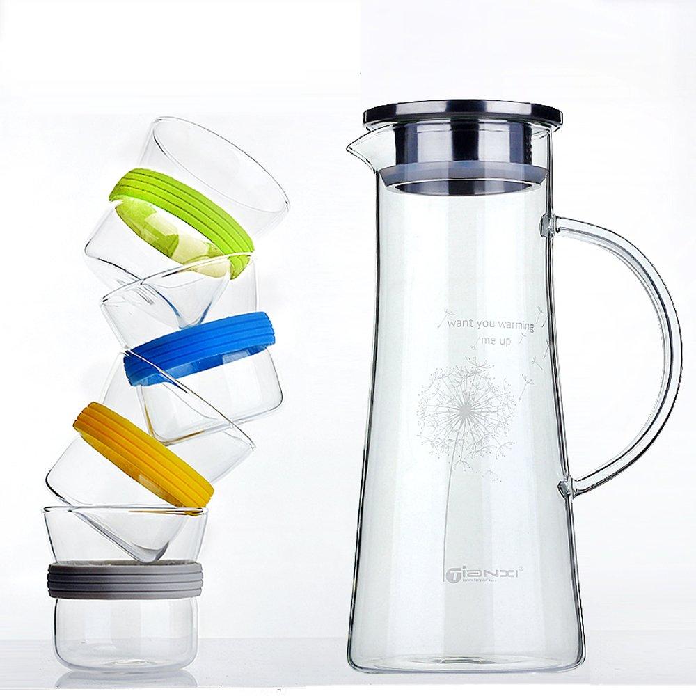 冷水壶玻璃耐热水壶水杯水具