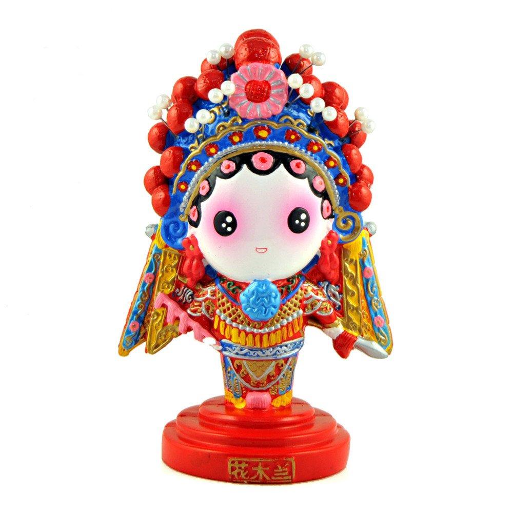 稻禾q版卡通京剧娃娃 创意家居客厅装饰摆件 中国风节日商务出国礼品图片