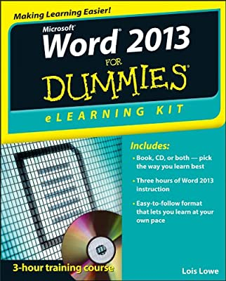 Word 2013 eLearning Kit For Dummies.pdf