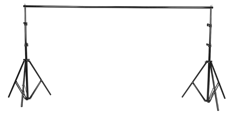 hpusn海普森 3米背景架 拍人像服装产品 背景架 摄影棚 摄影灯