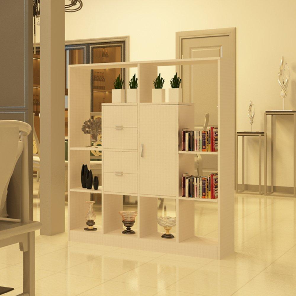 书架隔断-屏风柜