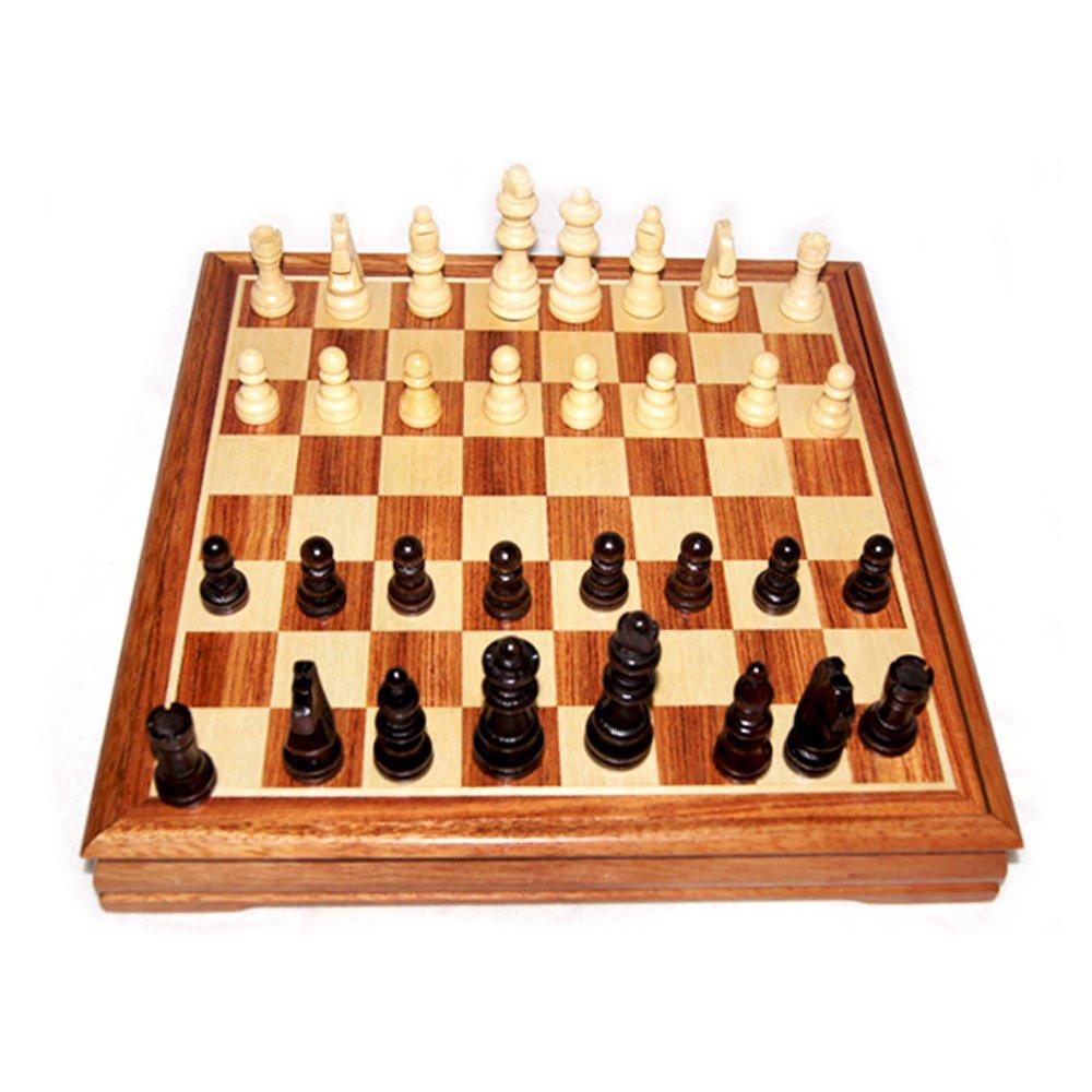 御圣-国际象棋套装-桦木棋子-木制棋盘-学生入门图片
