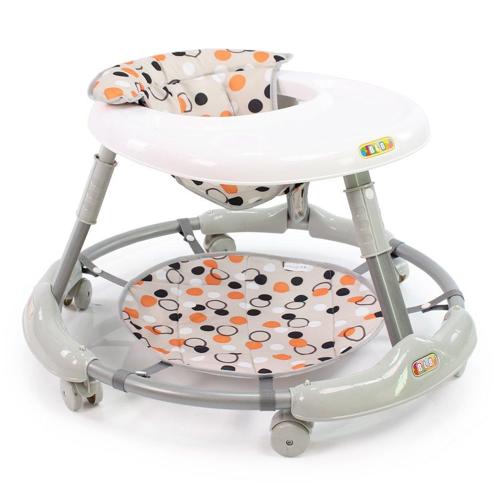 宝乐堡 免安装婴儿学步车多功能宝宝儿童学步车防侧翻特价6180 (卡期)