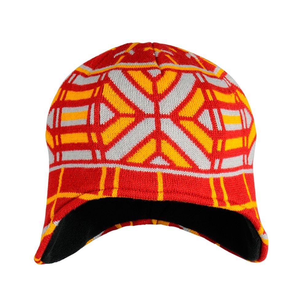 户外秋冬复古花纹民族风保暖护耳帽子圆