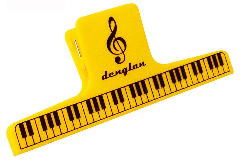 dl 大乐谱夹 黄色