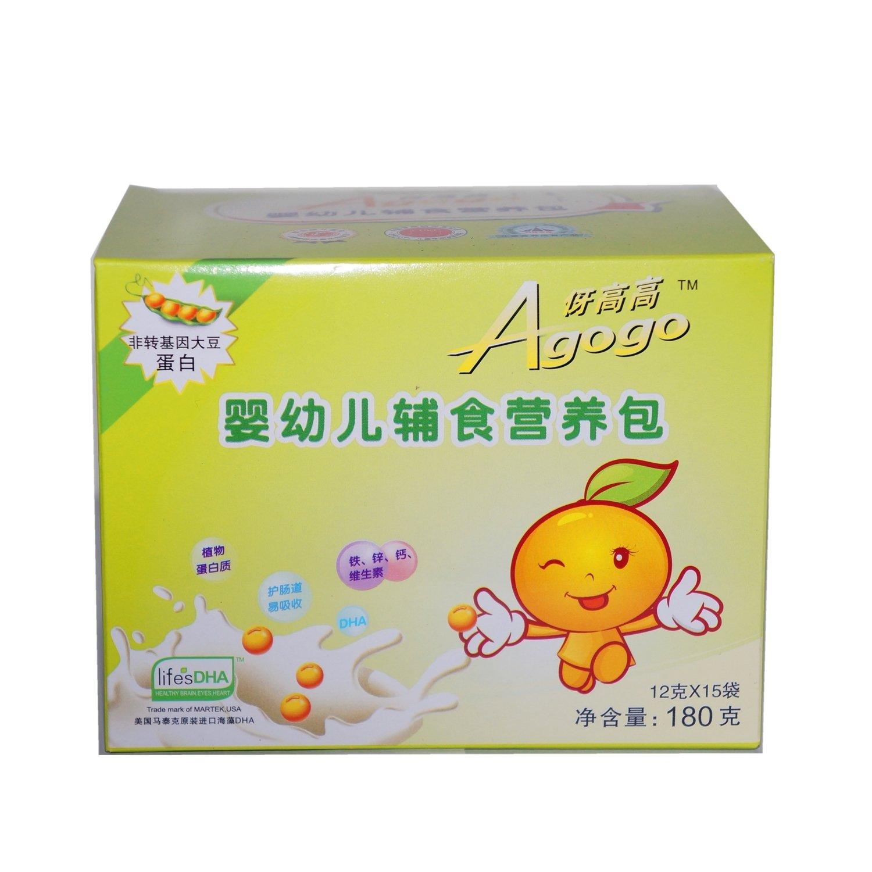 婴幼儿辅食营养包_福格森伢高高婴幼儿辅食营养包12g*15袋
