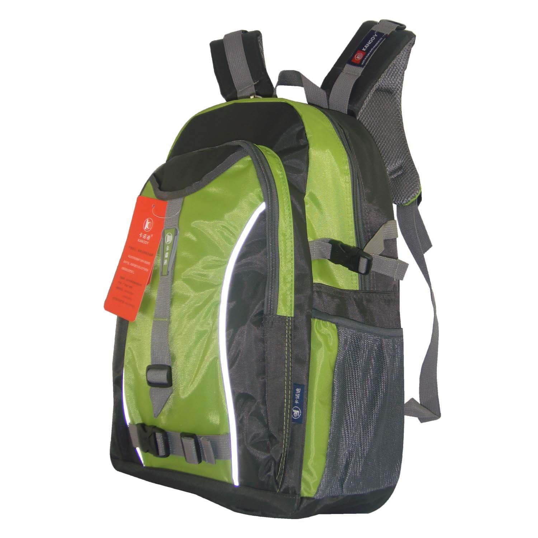 (235绿) 旅行休闲双肩背包 户外登山包 13年新款 设计时尚 运动休闲)