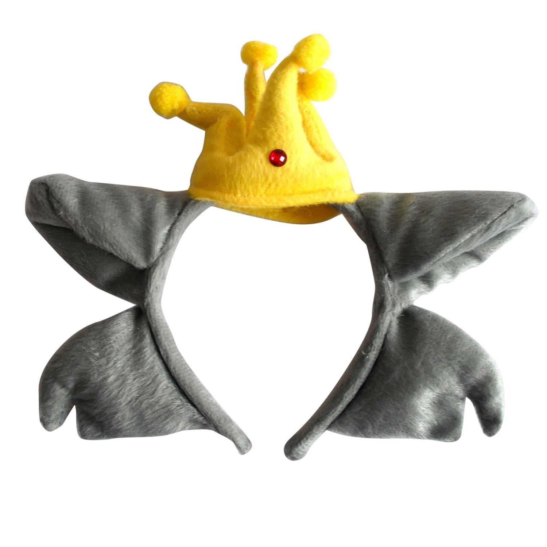 儿童动物表演头饰幼儿园动物头饰道具演出动物头箍发卡发箍 (红太狼)
