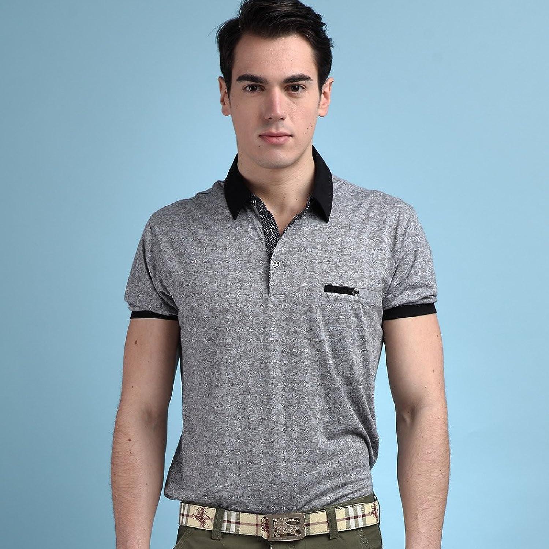 beverry 比菲力 2014夏装男士短袖t恤 男暗纹时尚商务